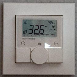 Raumtemperatur Schlafzimmer um 15:00 Uhr
