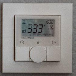 Raumtemperatur Schlafzimmer um 16:30 Uhr