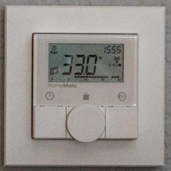 Raumtemperatur Schlafzimmer um 16:00 Uhr