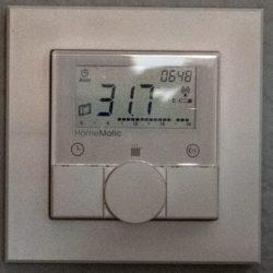 Raumtemperatur Schlafzimmer um 06:50 Uhr