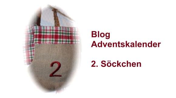 Adventskalender 2. Söckchen