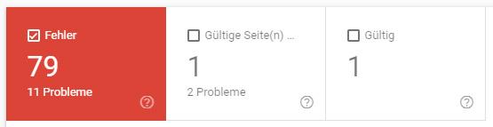 amp fehler google