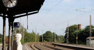 Bahntrassen Bahnhof Bahnstrecke