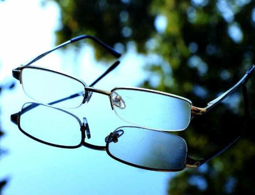 Neuverglasung der Brille mit Markengläsern aus Frankreich
