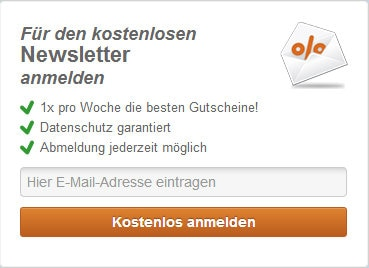 deals.de Newsletter