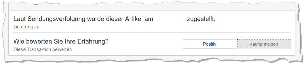 eBay Kundenservice Bewertung