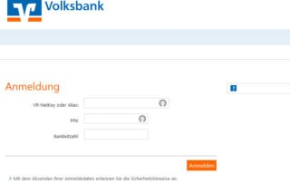 fake phishing volksbank psd2