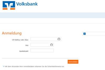 fake phishing volksbank psd2