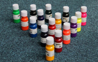 Farbstoffe in Liquids