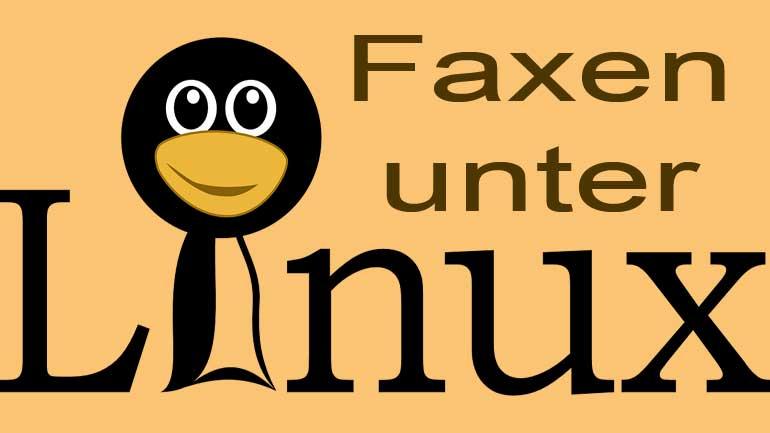 Faxen unter Linux