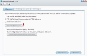synology ftp server