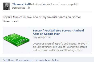 Fussball Ticker Facebook