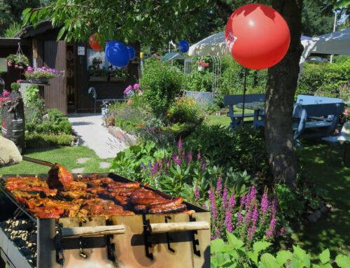 Unterhaltungsvorschläge für die nächste Gartenparty