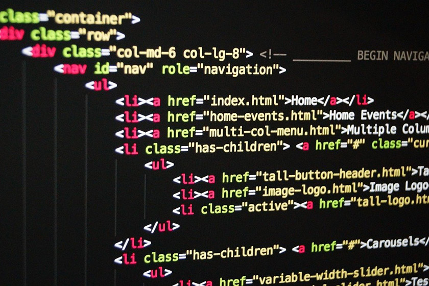 html code webseite