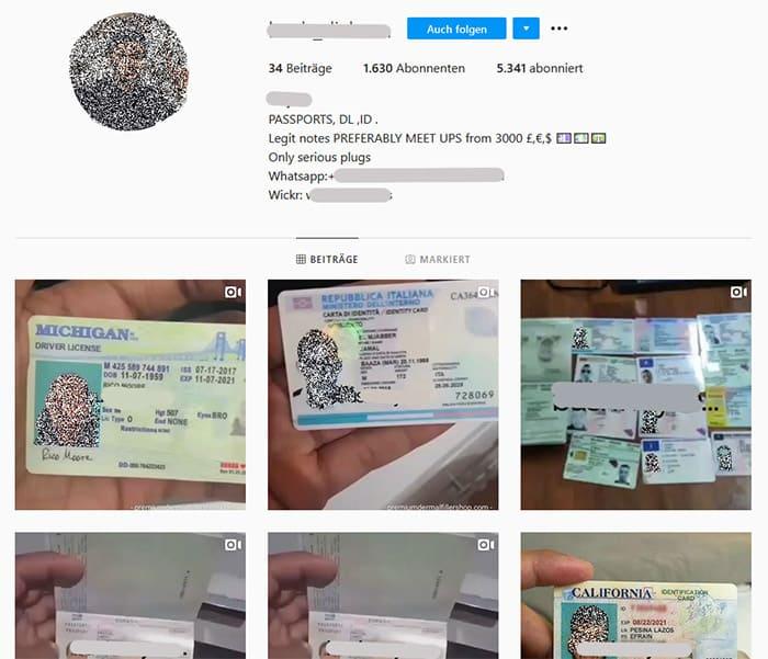 instagram kriminalität