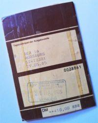 interrailpass 1985