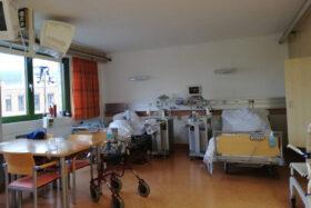 Krankenzimmer Klinik