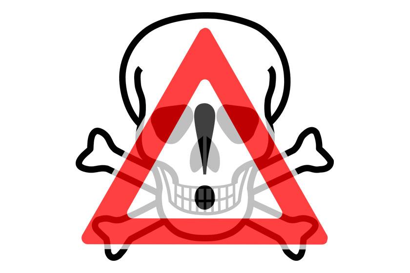 lebensgefahr tödlich gefährlich warnung