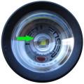 LED Lenser P 7 Linse und LED-Chip