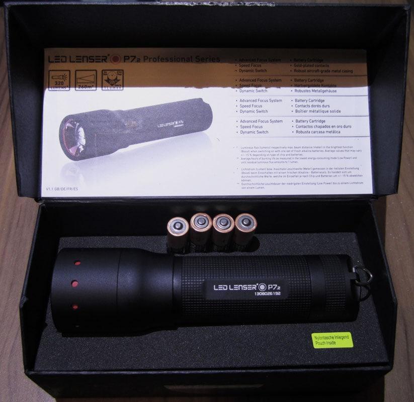 LED Lenser P 7.2 Box