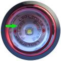 LED Lenser P 7.2 Linse und LED-Chip