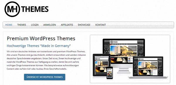 WordPress MHThemes