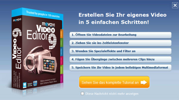 movavi-video-editor-startbildschirm