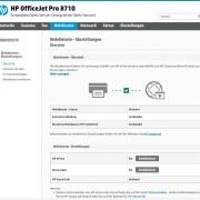 HP OfficeJet Pro 8715 - EWS - Webdienste