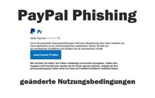 PayPal Phishing Betrug