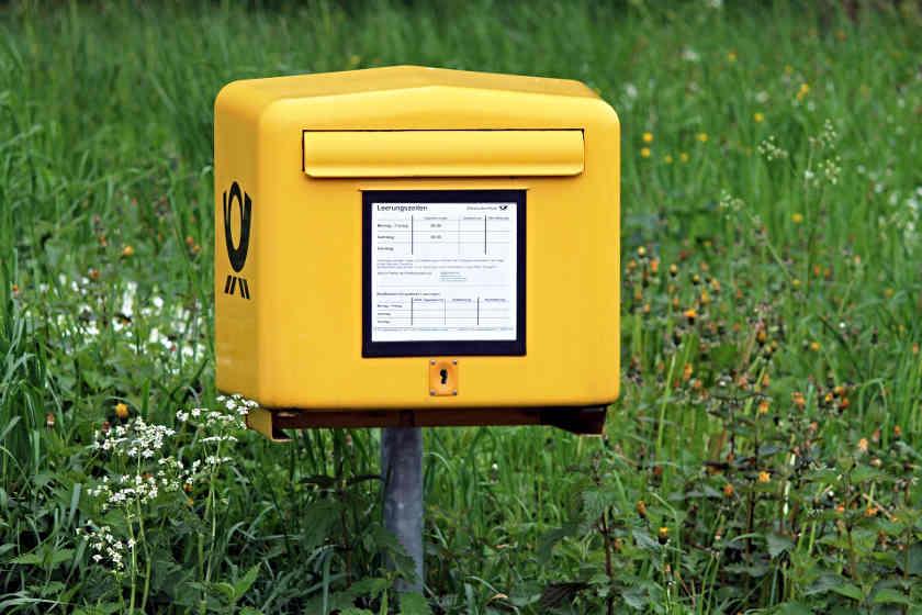 Postbox Briefkasten