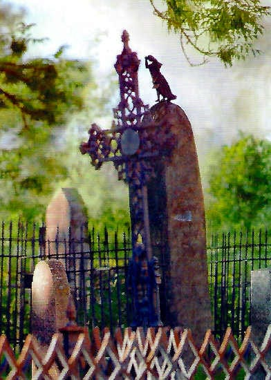 Postcrossing Sulkava Finnland Friedhof