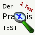 Praxistest - 2. Überprüfung