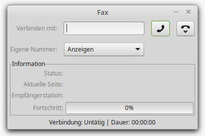 Roger Linux Telefax
