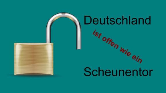 Sicherheit Deutschland