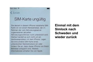 iphone simlock
