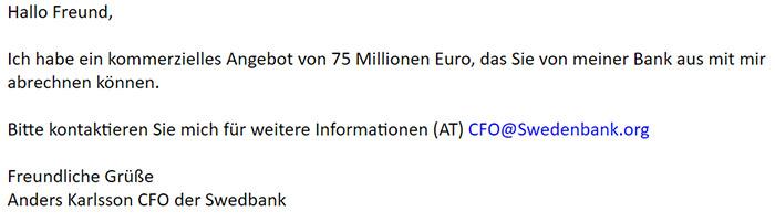 spam millionen gewinn