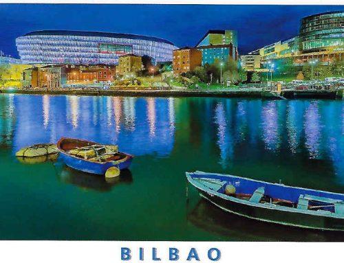 """Die """"Kathedrale"""" von Bilbao"""