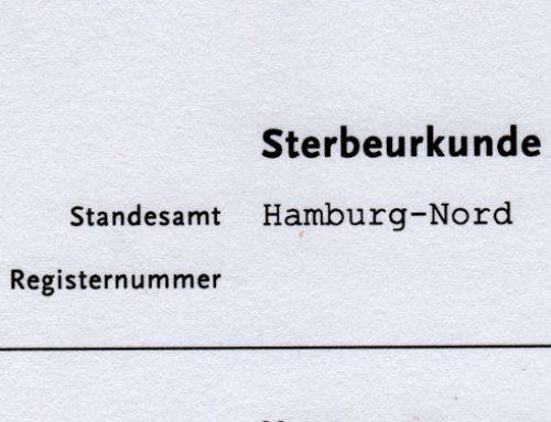 Vier Wochen warten für eine Sterbeurkunde in Hamburg