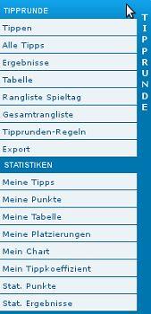 tippspiel menu