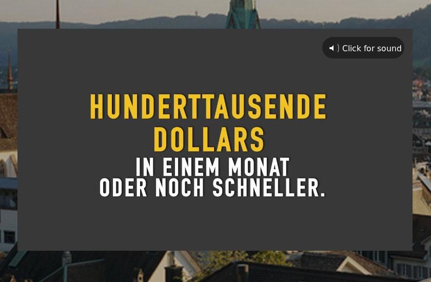 Trading Schweizer Formel