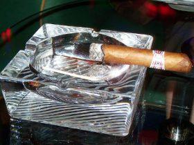 Zigarre Asche